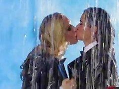 TwistedVisual - Kayden Kross & Dana Vespoli Dripping Lesbian Water Sex