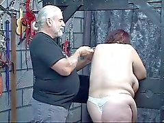 Guy straft kinky BBW in slipje