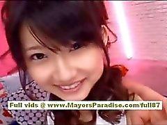 Yuki Aito asian babe gets her tight pussy licked
