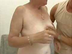 Gamla granny knulla ung man