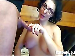 Anal fucking french couple on live webcam
