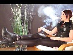Att röka korthårig Snygging