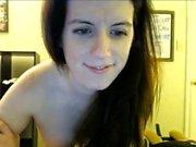 Busty Mom With Big Tits Dildo Blowjob and Masturbating