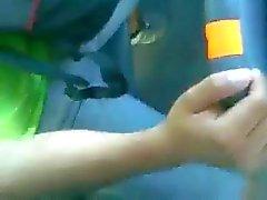 la figa e Contattate mano nella pullman