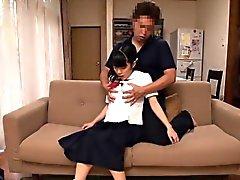 Colegialas Japonesa analplay con la tio mayores