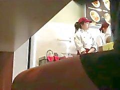 chinese restaurant wanker!!!!