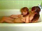 Sisters Bathtime