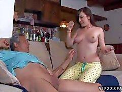 Jennifer White sucks mature Cock non stop