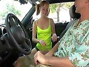 Car Azgın Gençlik İzlenen Handjob