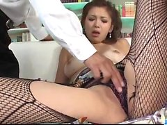 Mai Kuroki horny mom deals young dick in her pussy
