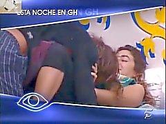 Big Brother Spanje Melania openbaar neuken
