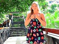 Melissa porno teen sarışın parmaklar salatalık dışında
