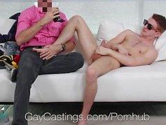 GayCastings - Horny Агент ебет Арчер Hart