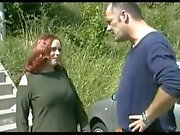 Söt Chubby Redhead får hennes Puss creamed på