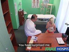 FakeHospital Doktor ıslak kedi olsun sarışın olur