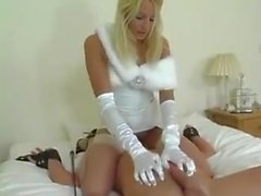 Domme uses slave