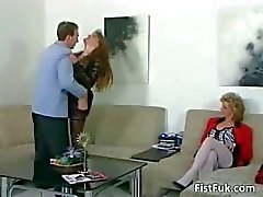 Grov trekant sex scene fullt part1
