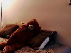 ébano sexy com bunda grande em seu Webcam