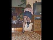 Crossdresser in pantyhose