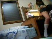 Cam caché sur Asian Teen Amateur Fille Massage Doigté