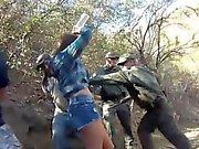 Manuel Ferrara polis Kayla Batı dinç patrool du yakalandı