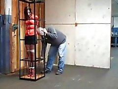 caged Bondage Hure