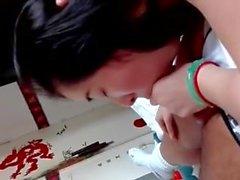 Asian POV petite amie Suc - cliquez sur mon profil pour les films