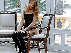 Beautiful darling receives sexy pussy hammering