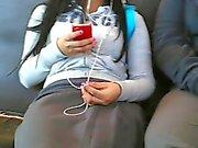 colegiala en el le bus