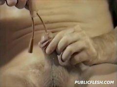 Ретро Гей Urethra Вставка