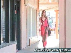 Michelle blonds mésanges publique petite amie