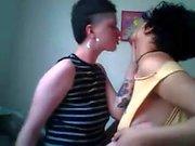 Ужасные Фетиши лесбийские панков подростка