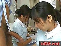 Japon hemşire mastürbasyon hasta horoz