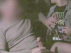 Adolescente de coge culo a la boca a taxis falsa