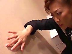 Japanse rijpt cabin attendants dienst