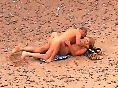 Knullas på strand fem