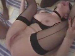 Два Проститутки Получение бурный секс От BBCs