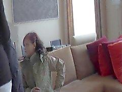 Twee verlegen tiener dames - eerste casting