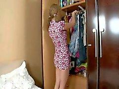 Poco del adolescente rusa la trenza follada de la culo