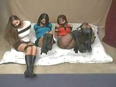 AES 4 ladies taped up