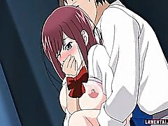 Hentai Schülerin Reiten Leute harten Schwanz