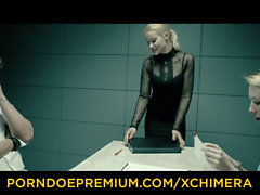 xCHIMERA - American blonde Samantha Rone gets anal fucked
