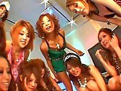 Japonesa gangbang contrário 05 de