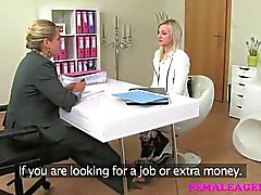 FemaleAgent - Sexy slim delicious blonde