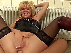 Duitse Anna anale actie