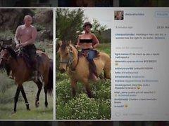 Chelsea Handler marche en public topless