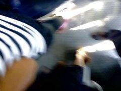 lankesisk härligt är teen buss tjej visar henne som är stor pattar