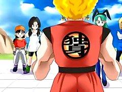 Hentai animaatio Dragon Ball Z seksikkäin sankarittaria