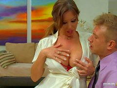 Seductive asian mom Kianna Dior with giant boobs
