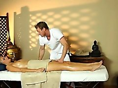 Secret voyeur movie of nasty masseur sex customers